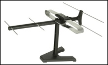 Set top TV aerial