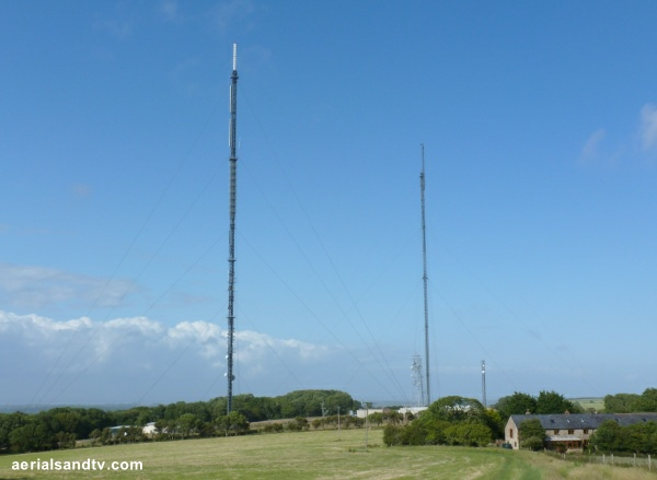 Rowridge transmitter when there was two masts Jul 2015