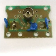 PCB (isolated type) removed from unscreened surface plate / faceplate