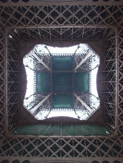 Eiffel Tower in perfect symmetry, part two.