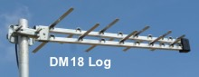 DM 18 Log TV aerial