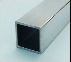 20mm x 20mm x 2.0mm box section alloy