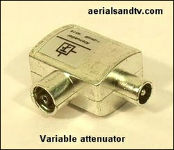 Variable attenuator, male to female