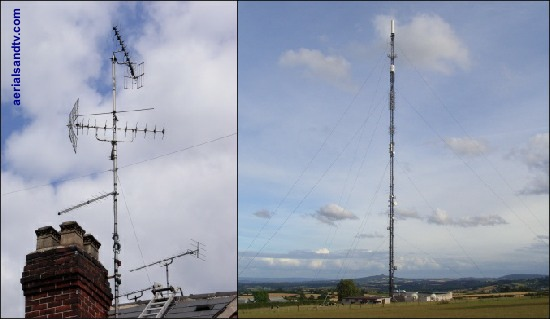 Our semi stay wired installation, and Ridge Hill transmitter