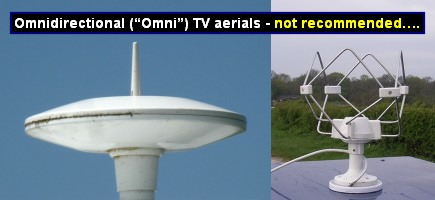 "Omni directional (""Omni"") TV aerials, only recommended if you can see the transmitter !"