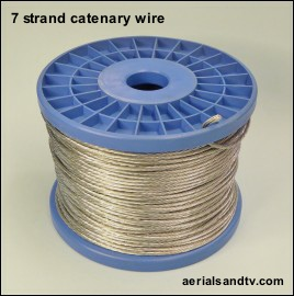 Catenary wire