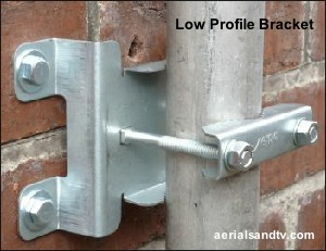 Low profile brackets